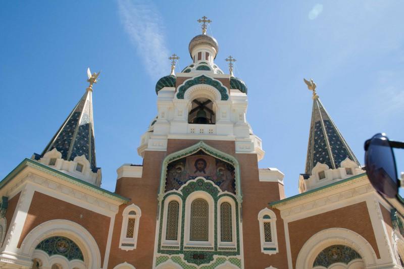 De Russische kathedraal in Nice