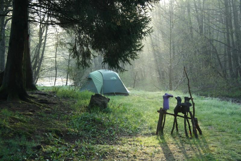 Camping Wesertal plekje