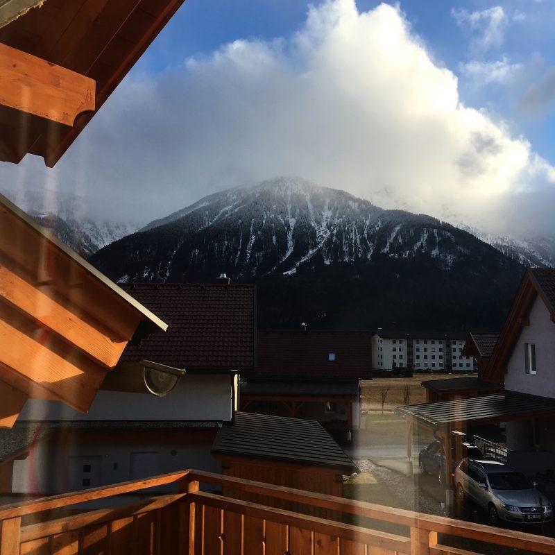 Uitzicht vanuit Chalet Edelweiss