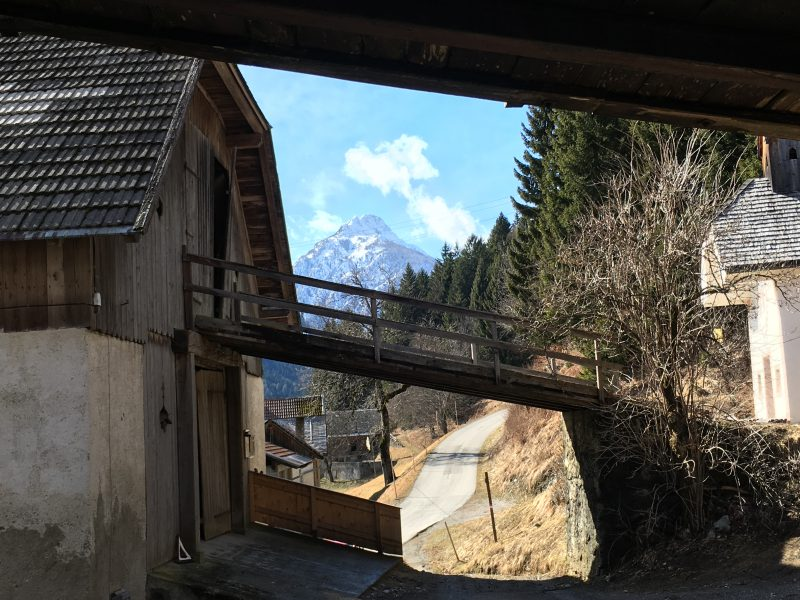 Wandelen bij Kötschach-Mauthen