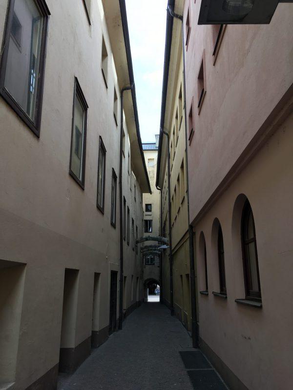 Straatje in Villach