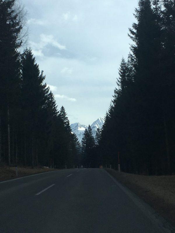 Onderweg naar Kötschach-Mauthen