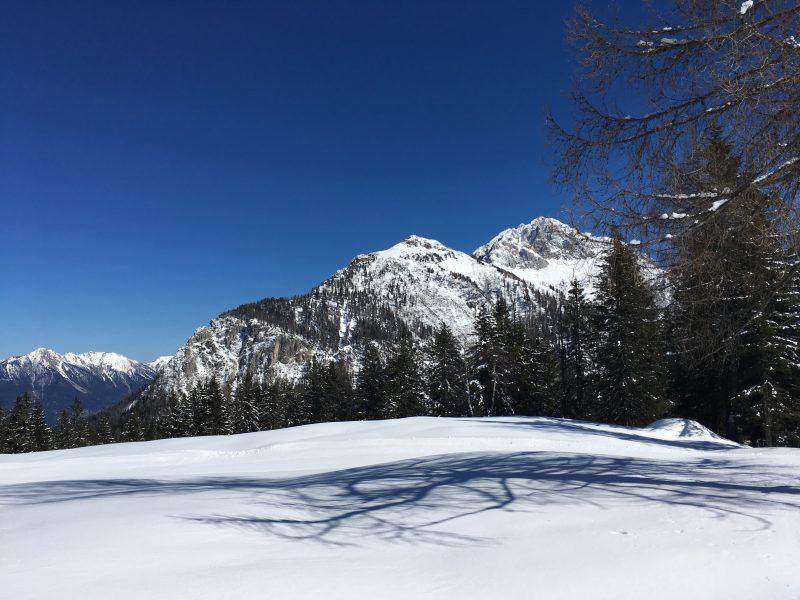Sneeuwvlakte bij Nassfeld