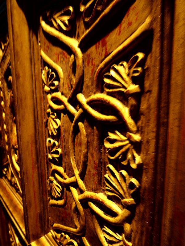 De deur van de grote zaal