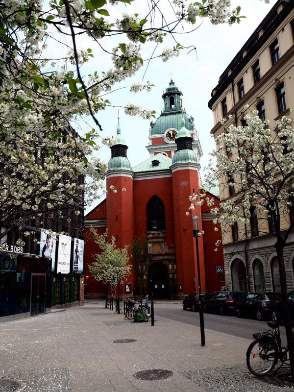 Stockholm Rode kerk en Bloesem