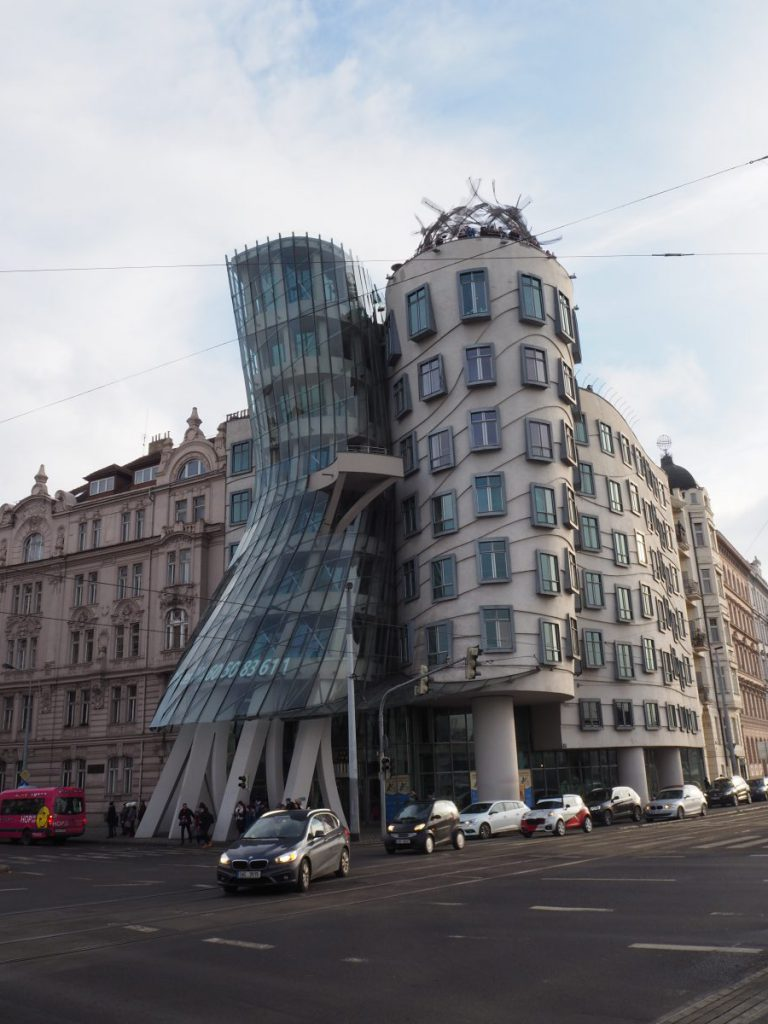 Het dansende huis in Praag