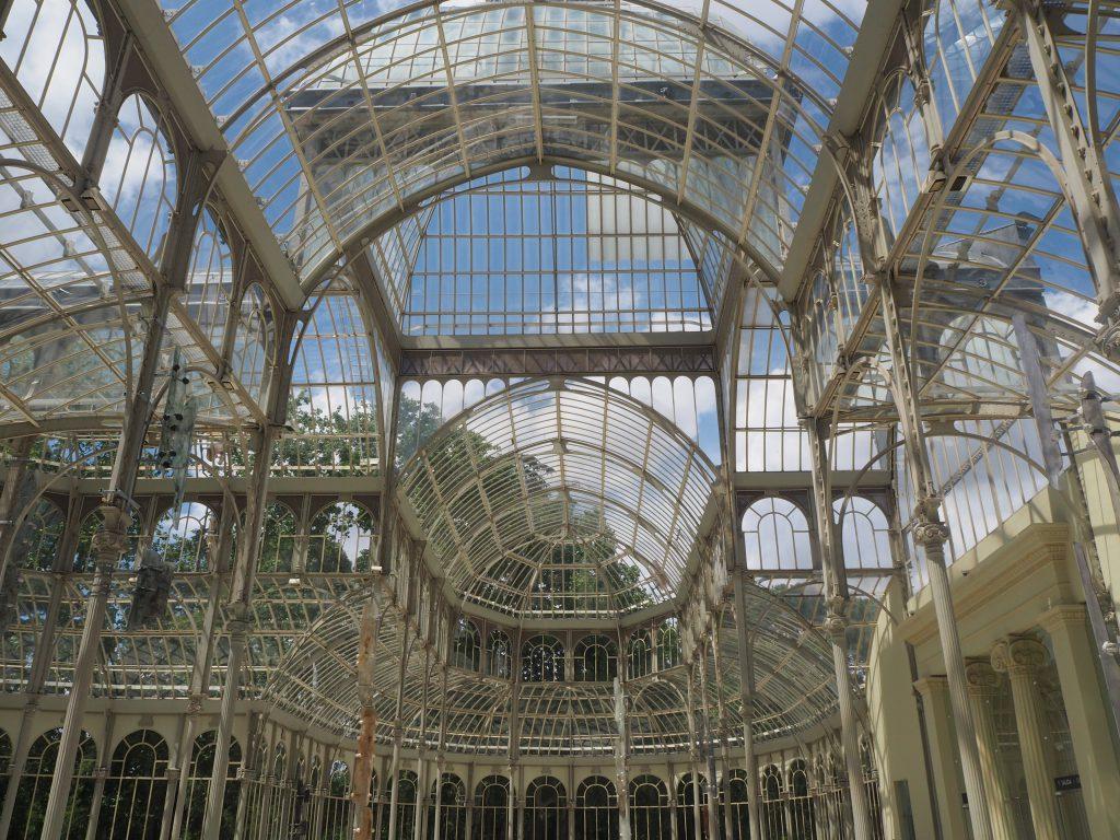 Palacio de Cristal del Retiro Madrid (Binnenkant)