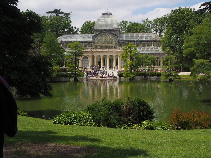 Palacio de Cristal del Retiro Madrid