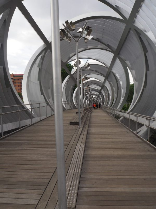 Arganzuela brug Madrid