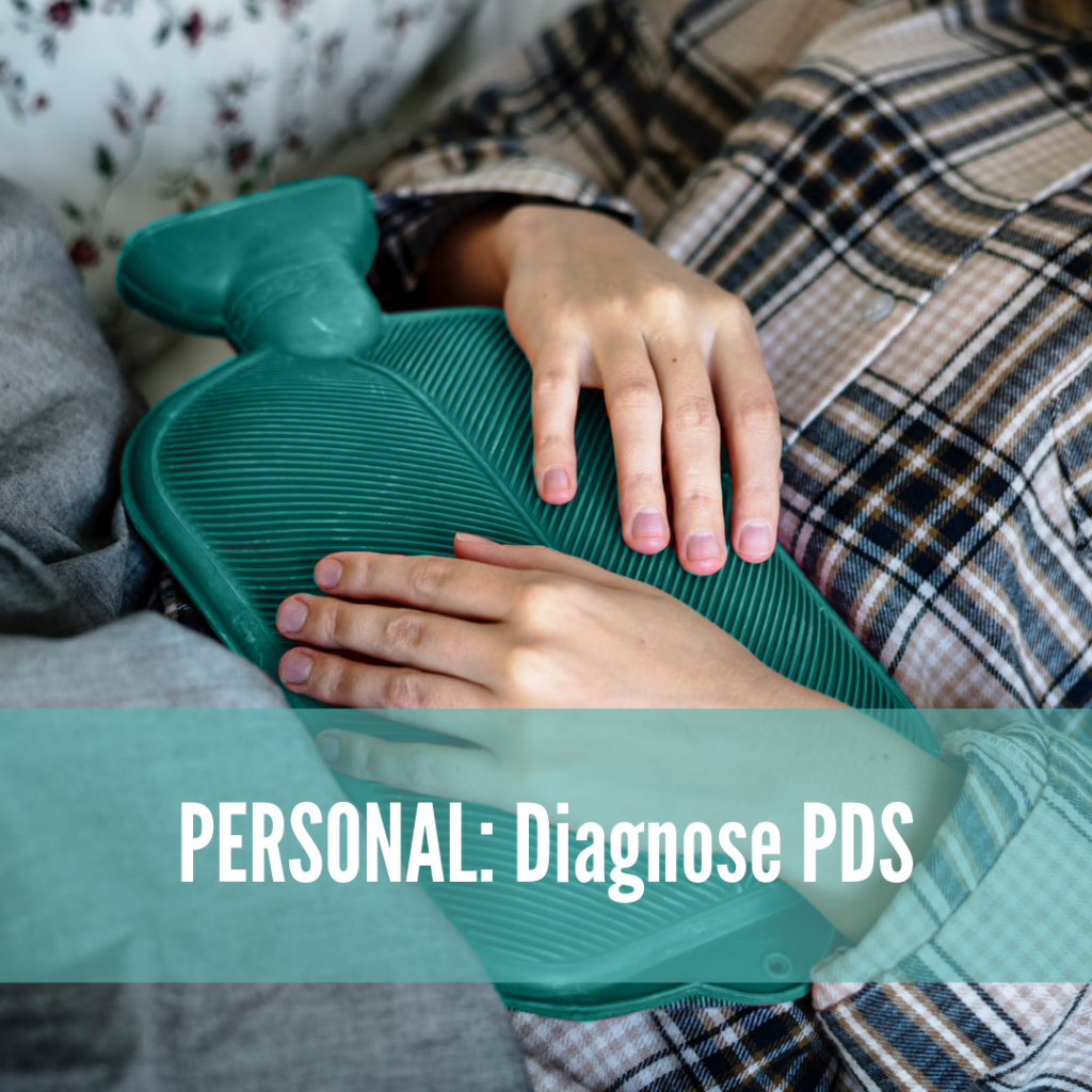 Personal: DIagnose PDS