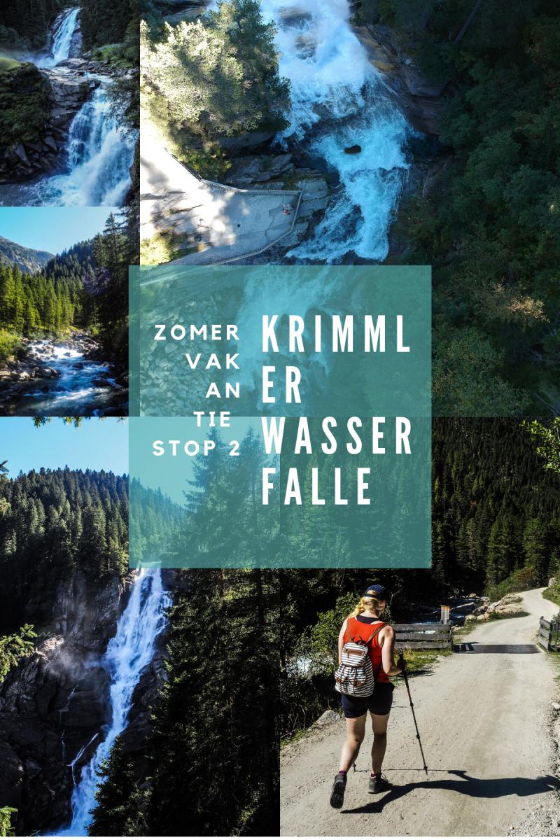 Travel: zomervakantie stop 2 Krimmler Wasserfälle
