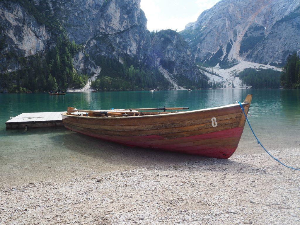 Bootje Lago di Braies