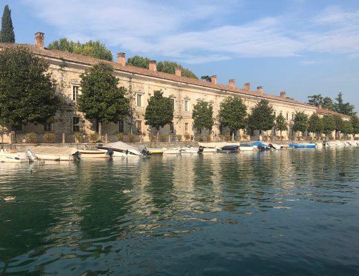 Peschiera del Garda water - Het Gardameer