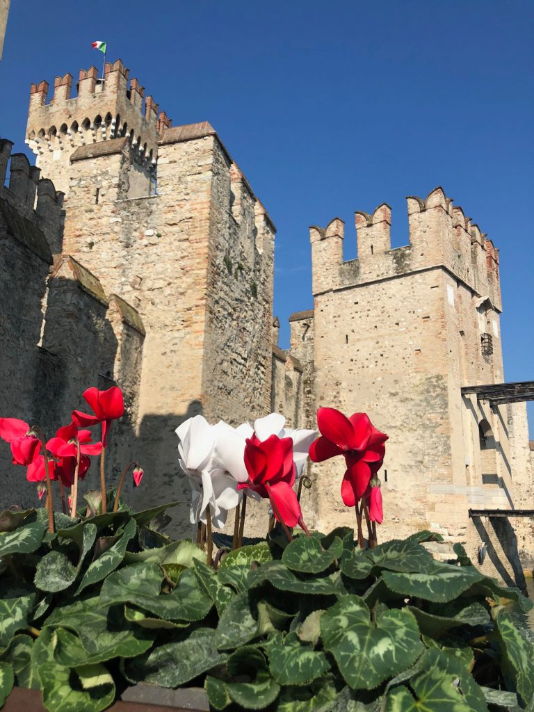 Sirmione kasteel - Het Gardameer
