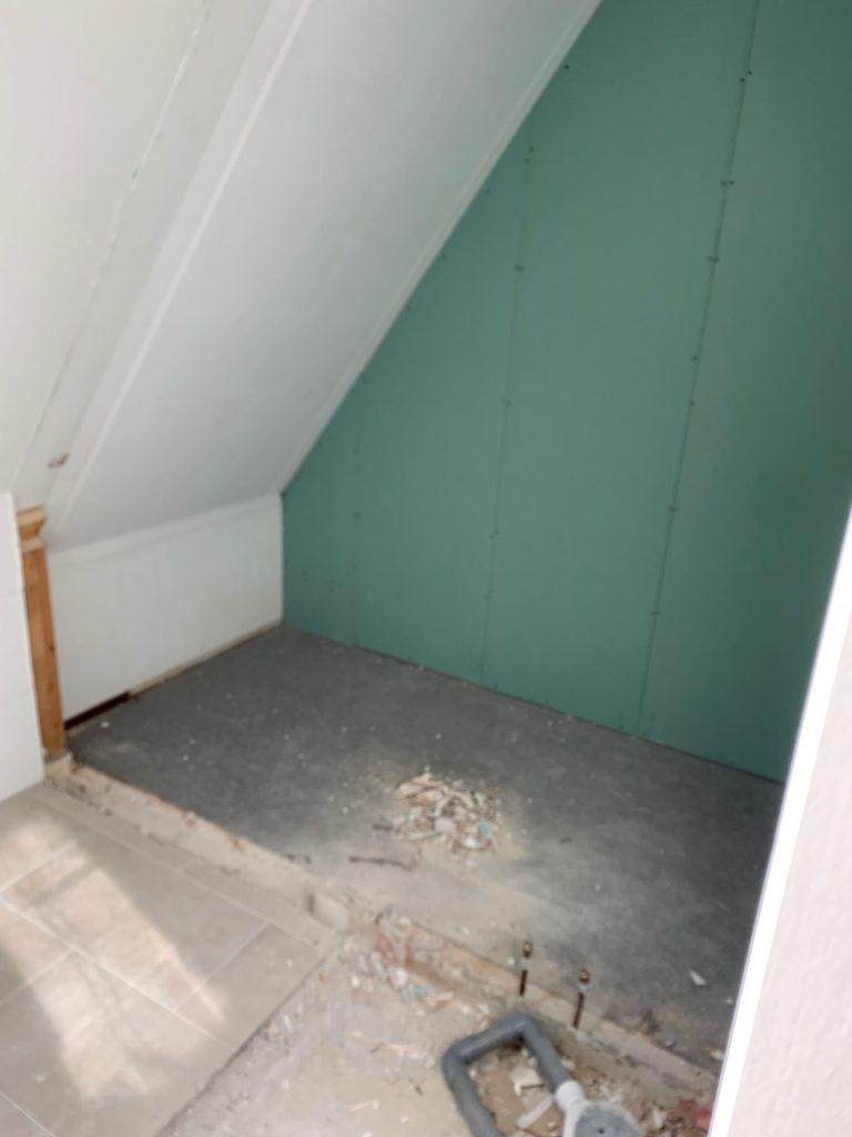 Interieur: badkamer uitbreiding