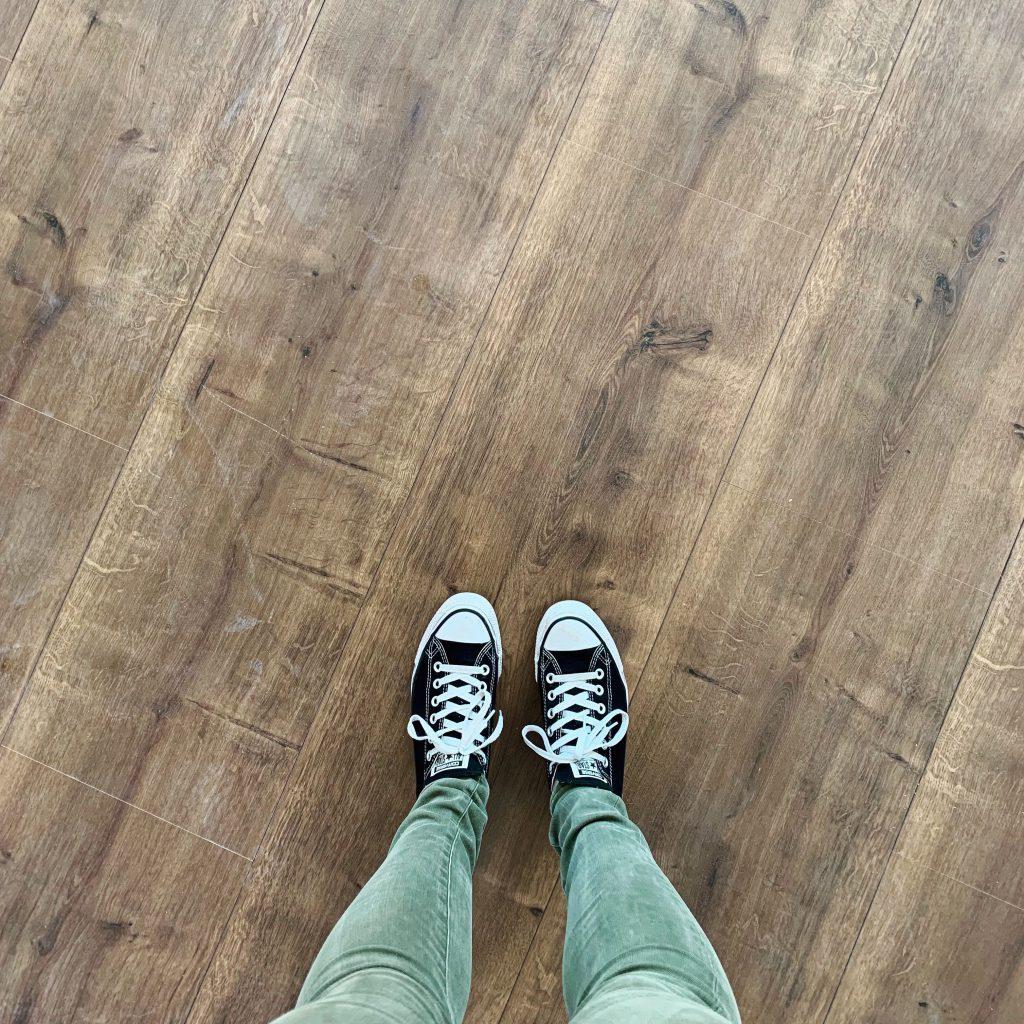 Interior: laminaat vloer