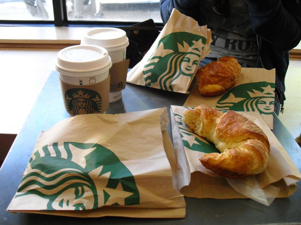 Starbucks ontbijt