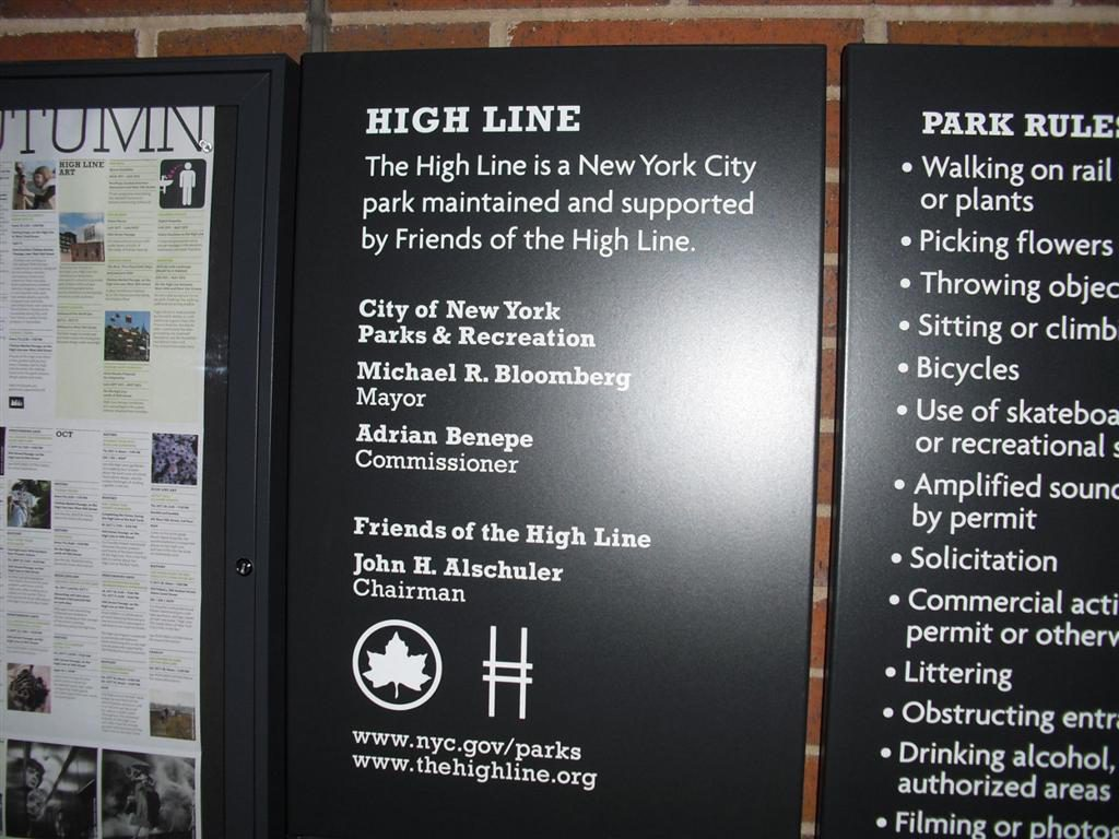After the holiday I was broke - High Line