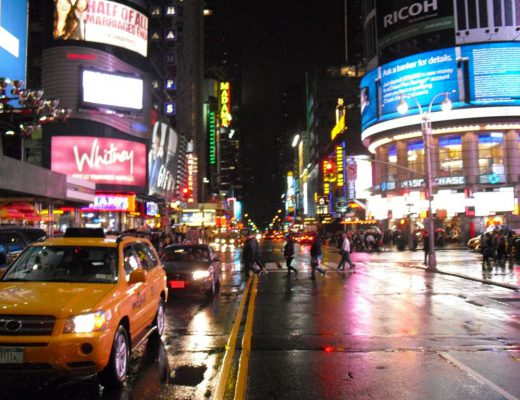 After the holiday I was broke - TImes Square - Crossing