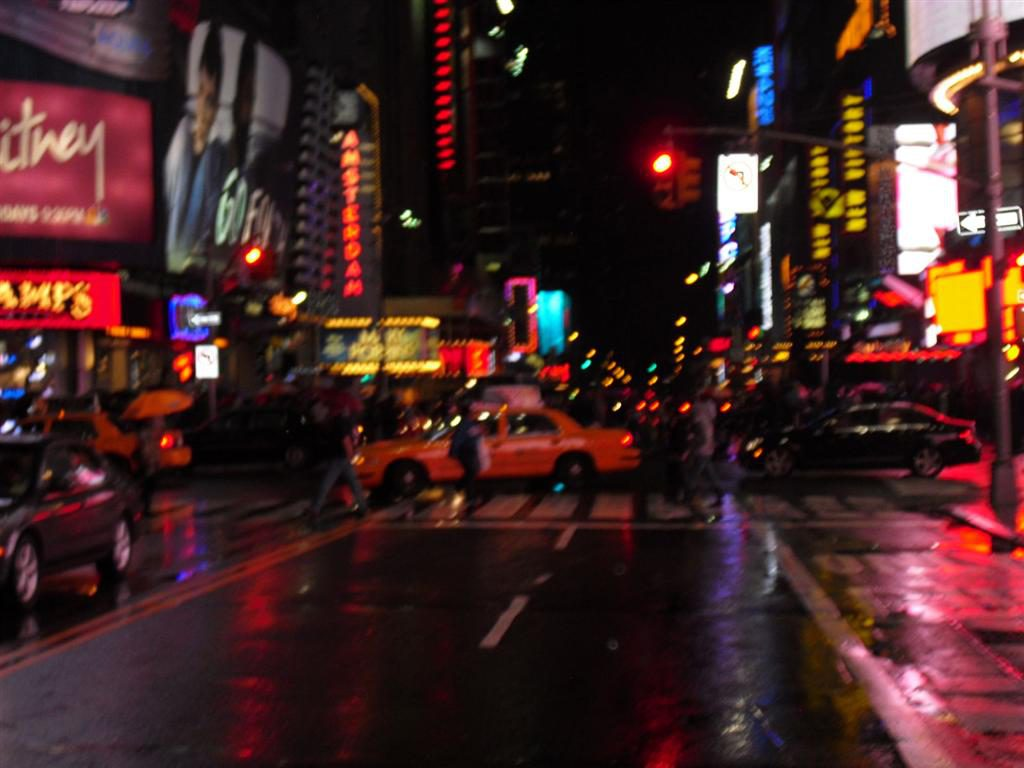 After the holiday I was broke - Times Square Crossing