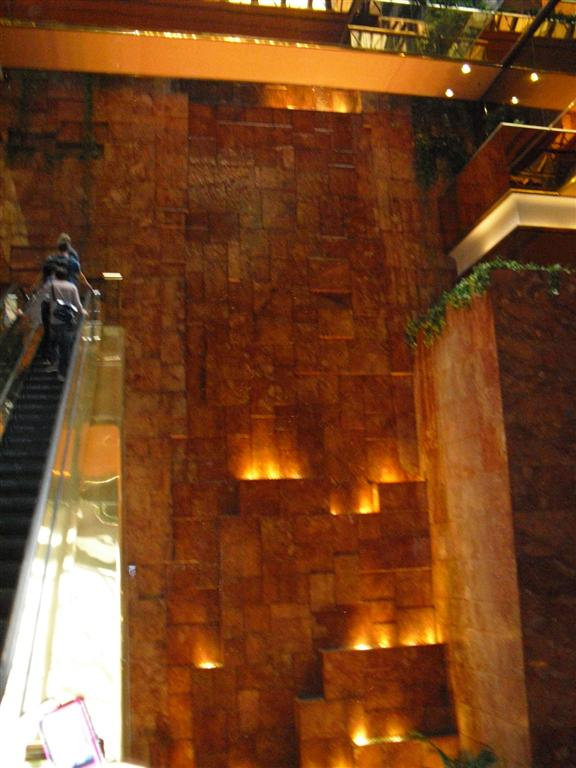 After the holiday I was broke - Trump Tower Interieur