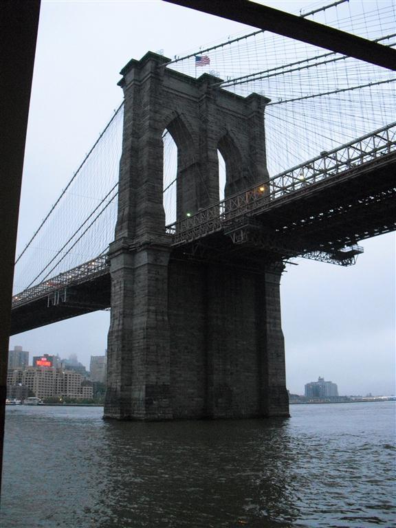 I cannot say pap anymore - Brooklyn Bridge