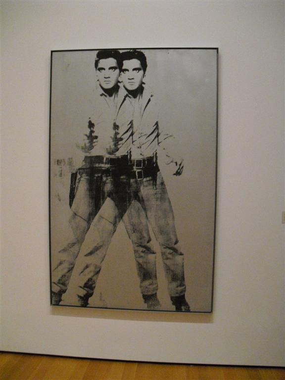 I cannot say pap anymore - MoMa Elvis