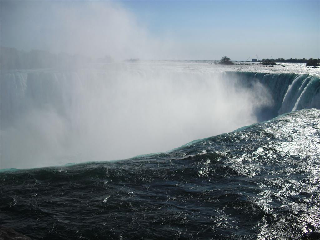 Niagara Falls drop