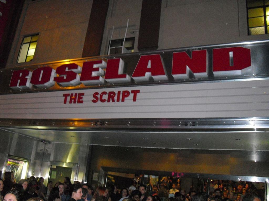 Roseland zaal - The Script