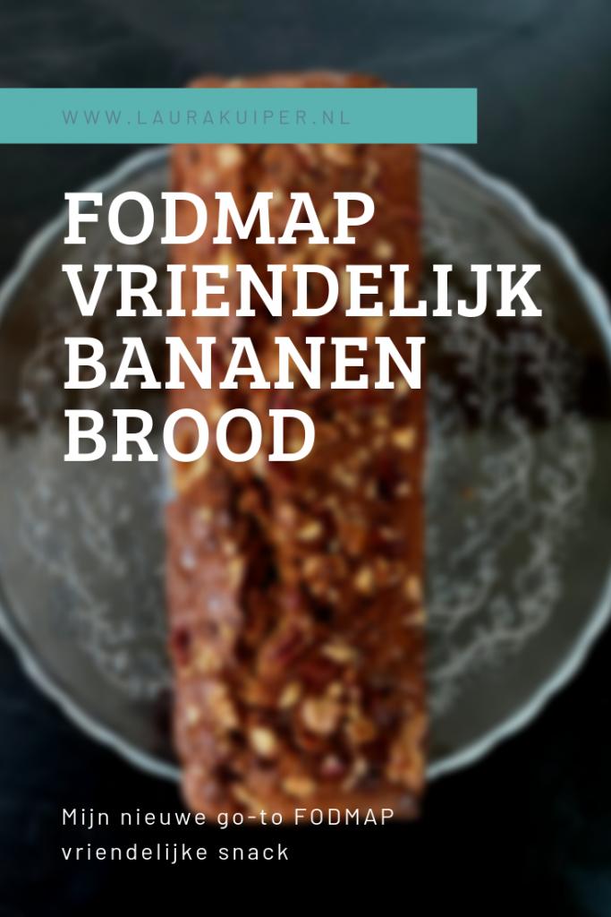 FODMAP Vriendelijk bananenbrood