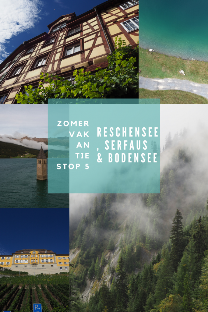Zomervakantie stop 5: Reschensee, Serfaus en de Bodensee